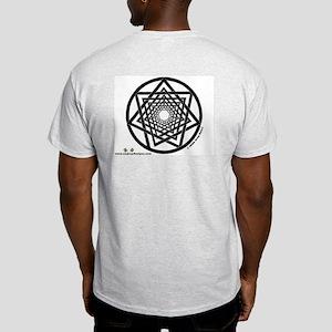 Spiral Heptagram - Ash Grey T-Shirt