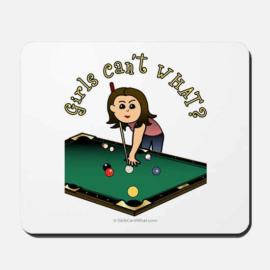 Light Billiards Mousepad