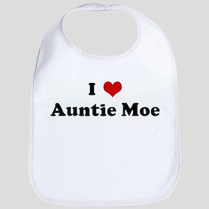 I Love Auntie Moe Bib