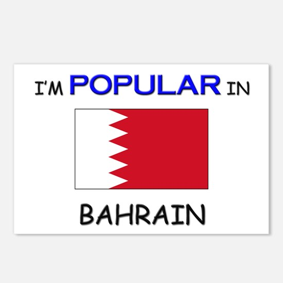 I'm Popular In BAHRAIN Postcards (Package of 8)