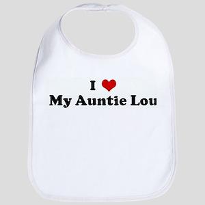 I Love My Auntie Lou Bib