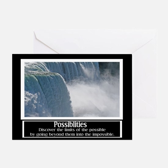 Possibilities Motivational Greeting Card