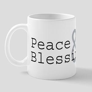 Peace & Blessings Mug