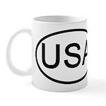 United States - USA - Oval Mug