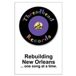 Threadhead Records Large Poster