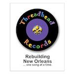 Threadhead Records Small Poster