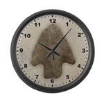 Arrowhead Large Wall Clock