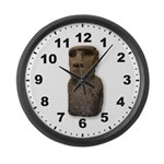 Easter Island Large Wall Clock