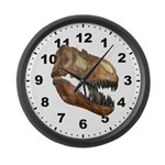 T-Rex Large Wall Clock