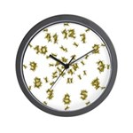Yellow Jacket Wall Clock