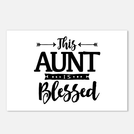 Blessed Aunt Postcards (Package of 8)