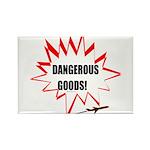 Dangerous Goods! Rectangle Magnet (100 pack)