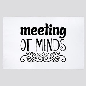 meeting of minds 4' x 6' Rug