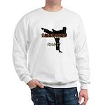 TAEKWONDO RIGHT? Sweatshirt