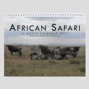 Africa Wall Calendar