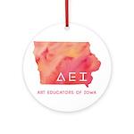 AEI Logo Round Ornament