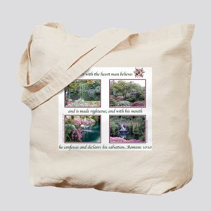 """""""With the Heart"""" Tote Bag"""