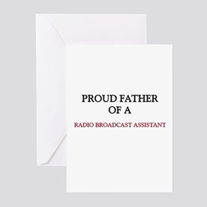 Proud Father Of A RADIO BROADCAST ASSISTANT Greeti