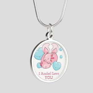 Cute Axolotl Love You Necklaces
