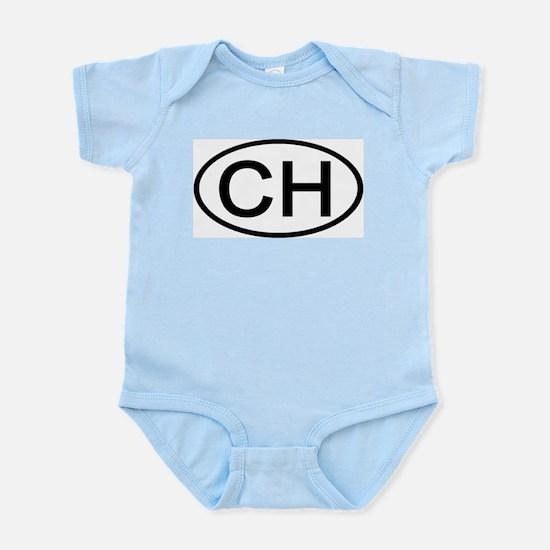 Switzerland - CH - Oval Infant Creeper