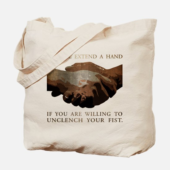 Extend a Hand Tote Bag