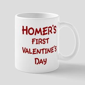Homers First Valentines Day Mug