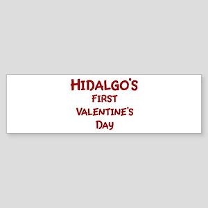 Hidalgos First Valentines Day Bumper Sticker