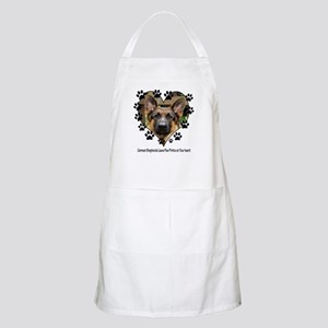 German Shepherds Leave Pawpri BBQ Apron