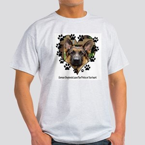 German Shepherds Leave Pawpri Light T-Shirt
