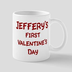 Jefferys First Valentines Day Mug