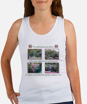 """With the Heart"" Women's Tank Top"