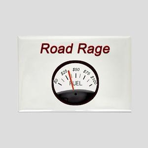Road Rage Rectangle Magnet