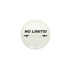 No Limits! Mini Button (10 pack)