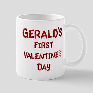 Geralds First Valentines Day Mug