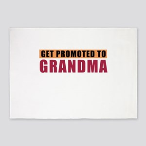 Only Best Moms Get Promoted To Gran 5'x7'Area Rug