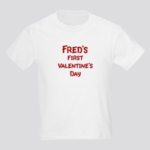 Freds First Valentines Day Kids Light T-Shirt