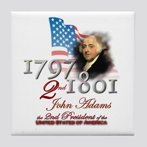2nd President - Tile Coaster