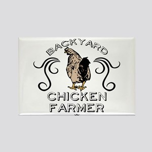 Backyard Chicken Farmer Magnets