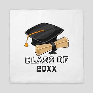 Graduation Class of Any Year Queen Duvet