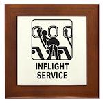 Inflight Service Framed Tile