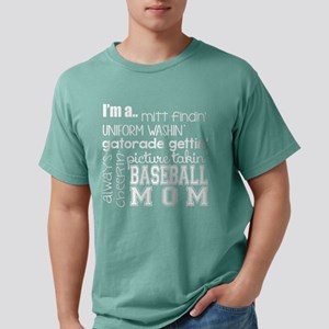 BASEBALL MOM - WHITE T-Shirt