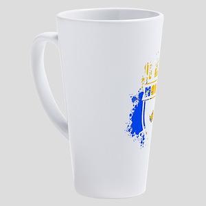 I Hate Monday Funny School Work St 17 oz Latte Mug