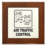 Air Traffic Control Framed Tile