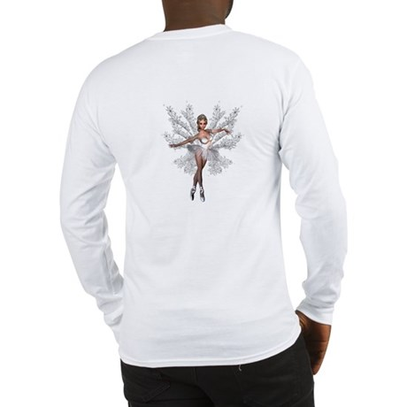 Fade Into White Long Sleeve T-Shirt