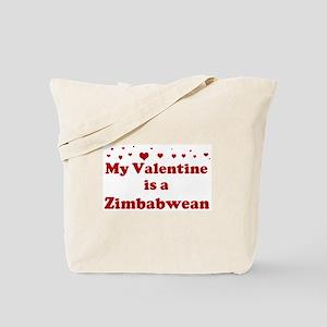 Zimbabwean Valentine Tote Bag