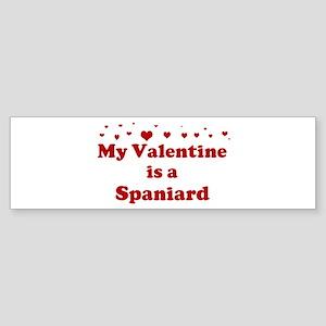 Spaniard Valentine Bumper Sticker