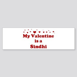 Sindhi Valentine Bumper Sticker