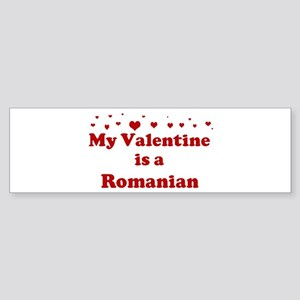 Romanian Valentine Bumper Sticker