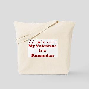 Romanian Valentine Tote Bag