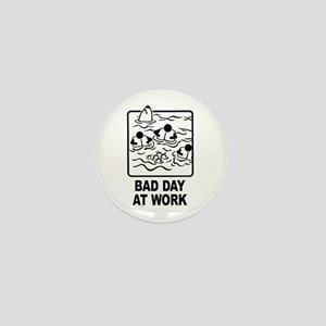 Bad Day at Work Mini Button